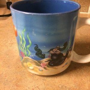 Vintage The Little Mermaid coffee mug